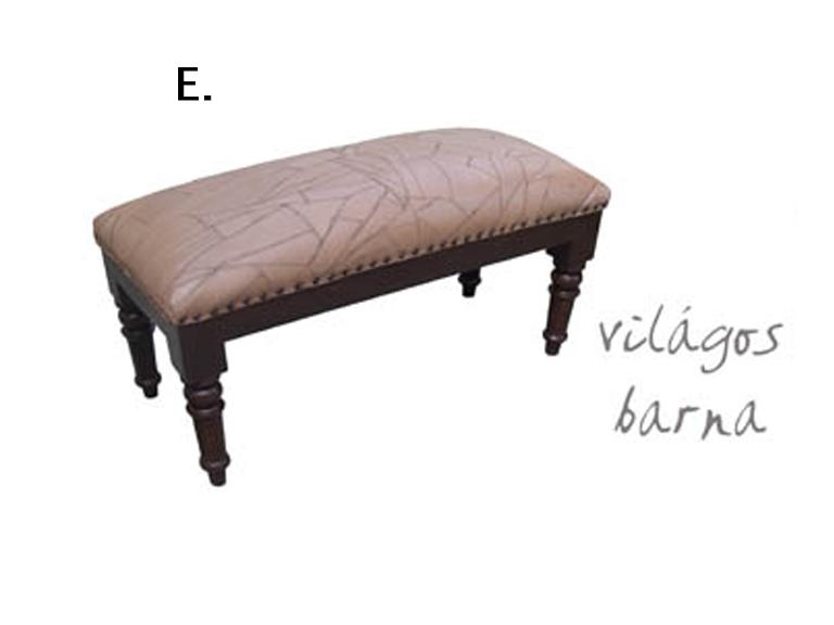 Pad bőr ülőfelülettel ( E)