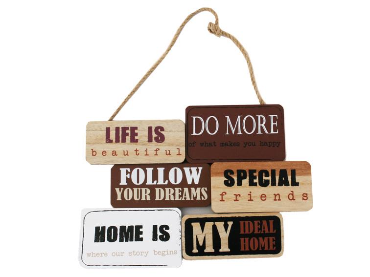 Felakasztható fa üzenet Life is..