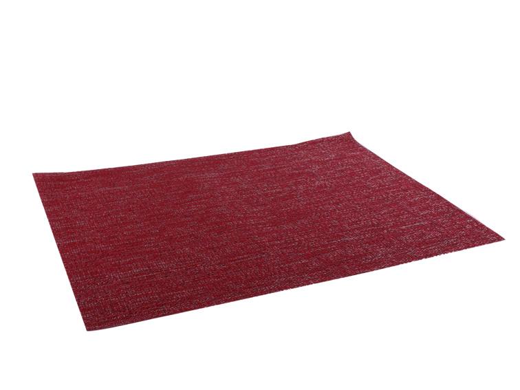 Textilén asztali alátét bordós