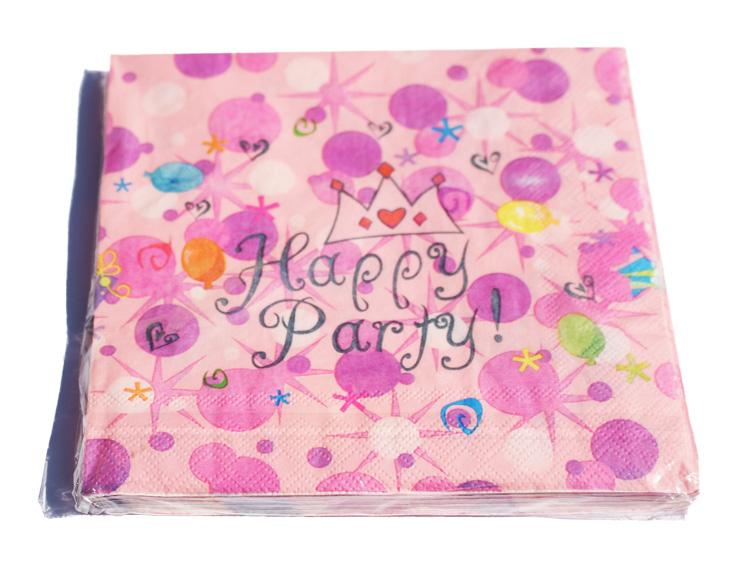 Color Papírszalvéta 20db Happy party