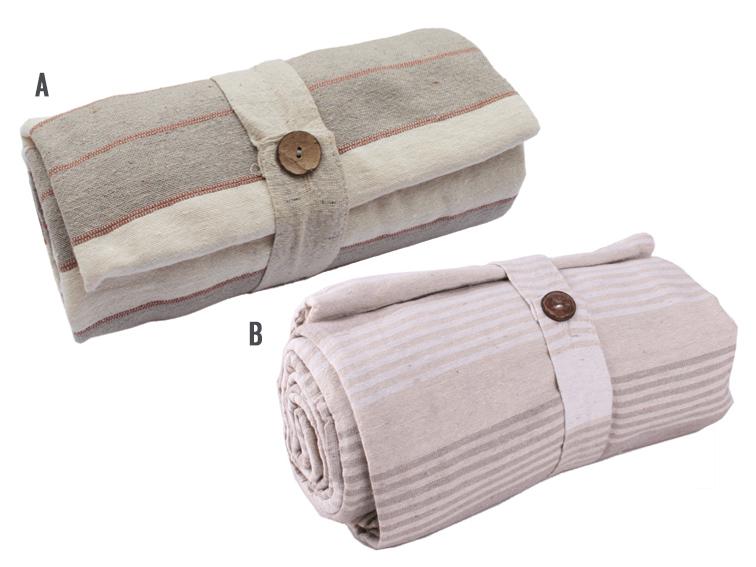 2&1 ágytakaró,piknikező 160*260 bézs