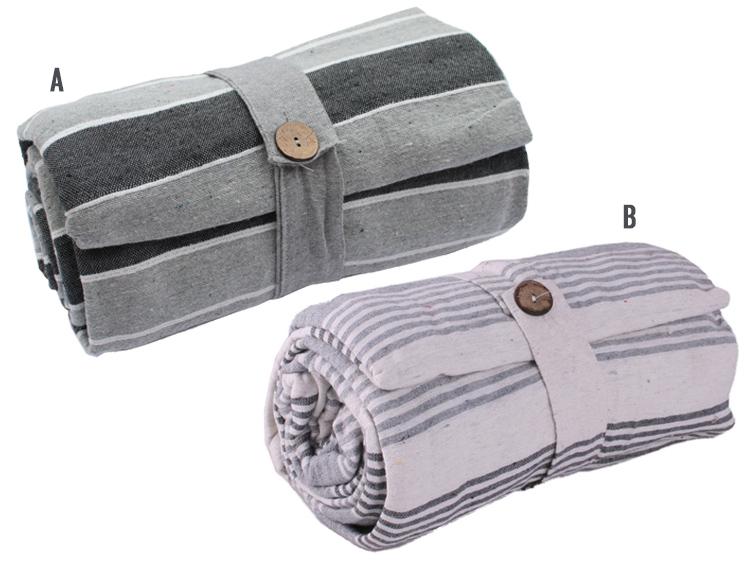 2&1 ágytakaró,piknikező 160*260 szürkés
